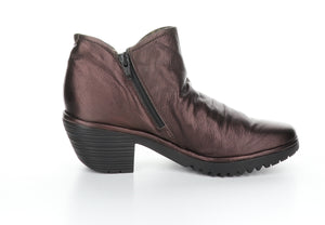 Fly London Wezo in burgundy boot available at Shoe Muse