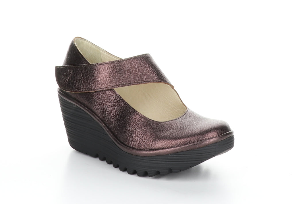 Fly London Yasi burgundy available at Shoe Muse