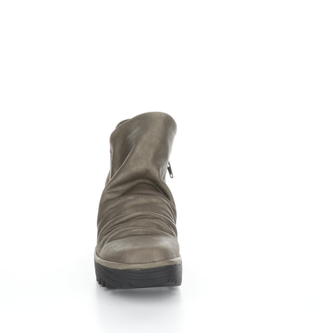 Fly London Yip grey boot available at Shoe Muse