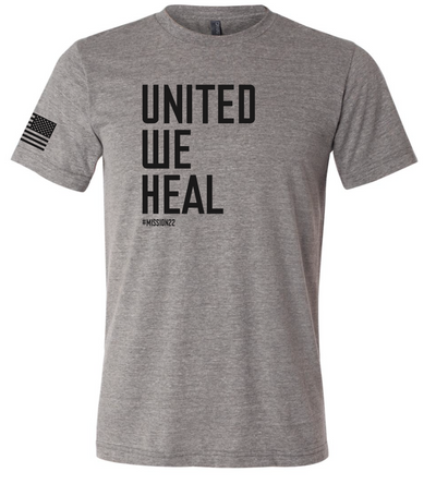 United We Heal Tee
