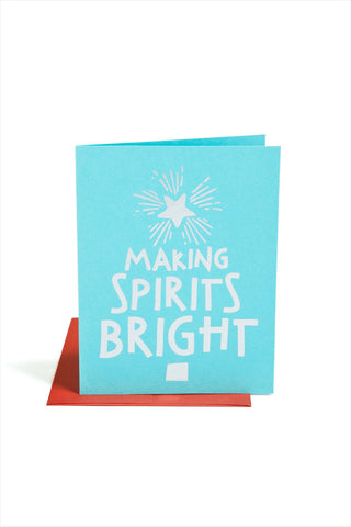 Making Spirits Bright Card
