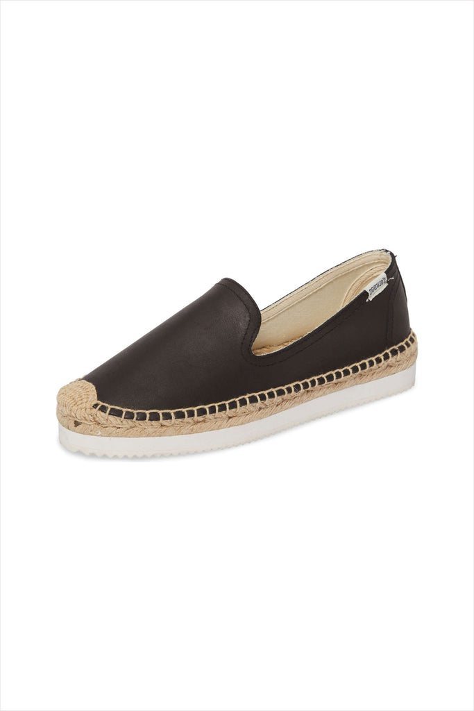 Soludos Platform Mix Sole Smoking Slipper