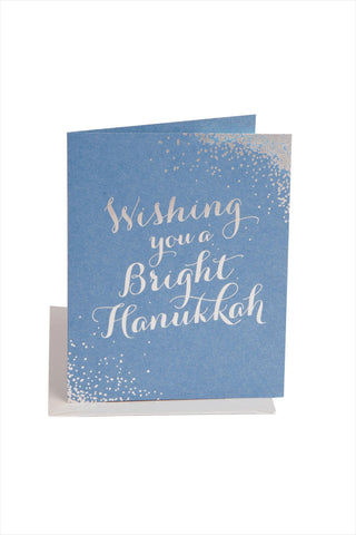 Bright Hanukkah Card