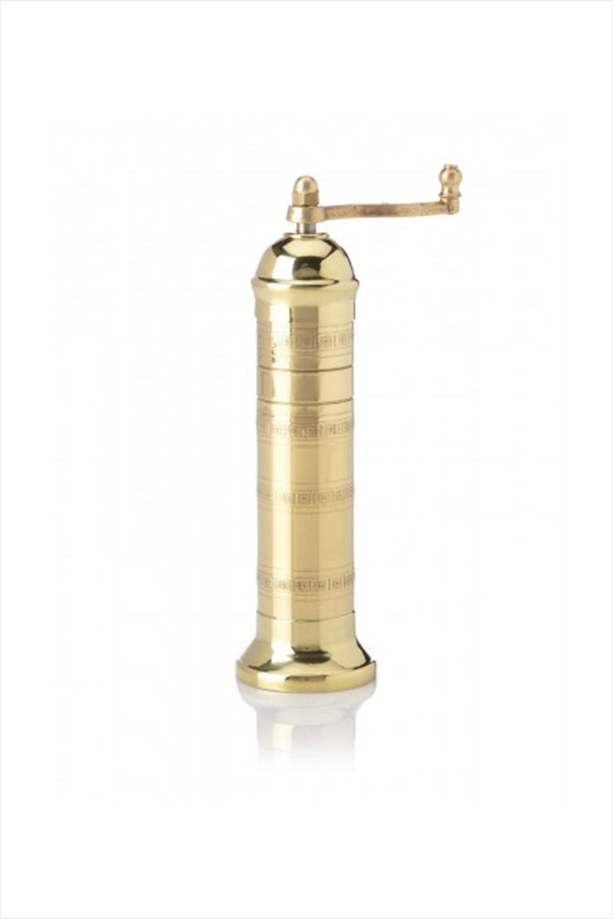 Atlas Brass Pepper Mill 8""