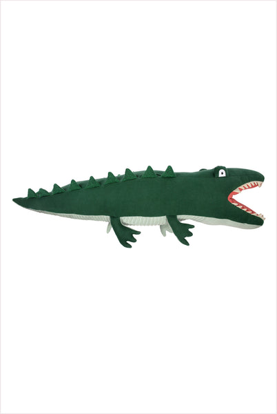 Large Knitted Alligator