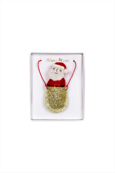 Santa Pocket Necklace