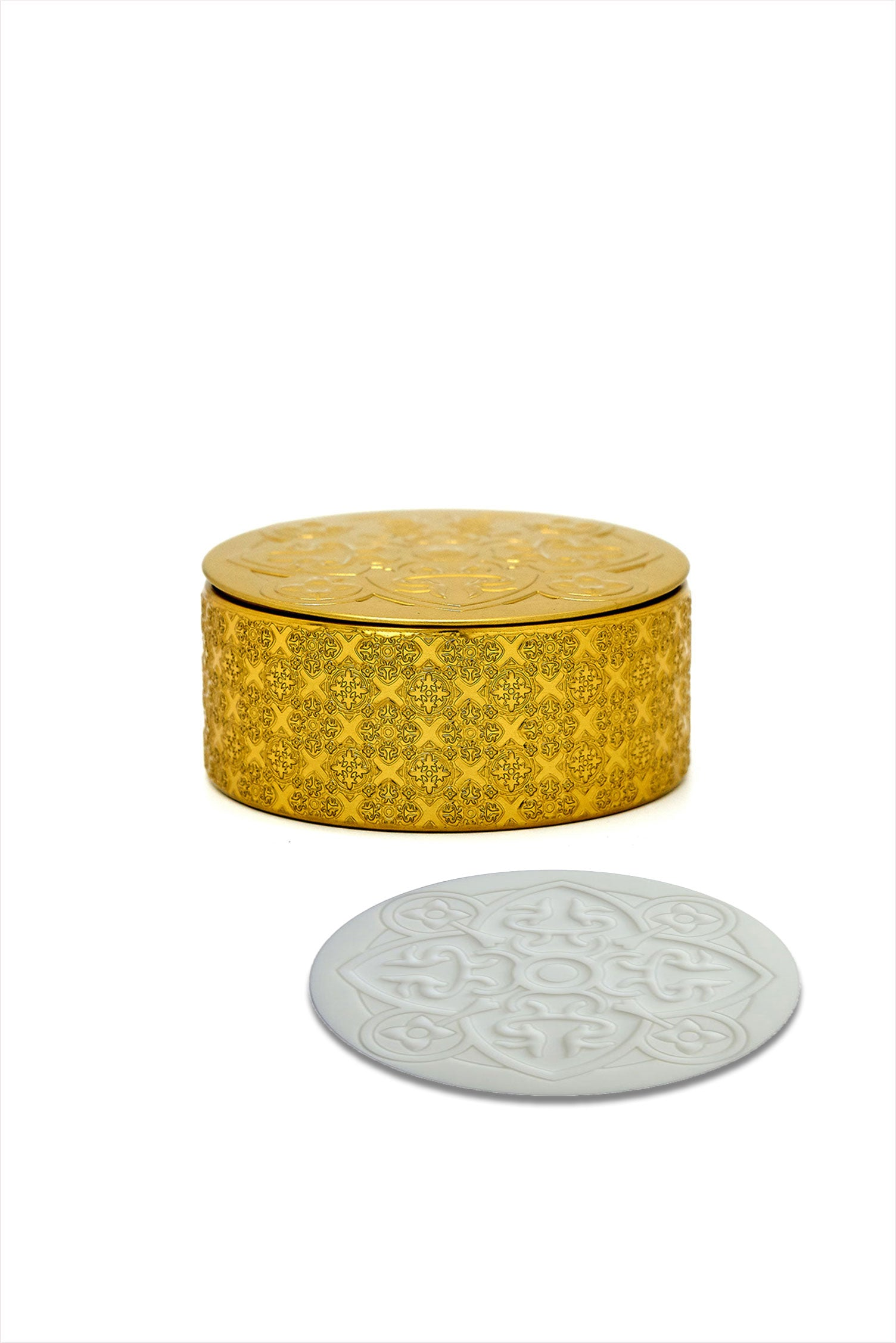 Gold Box Of Six Coasters
