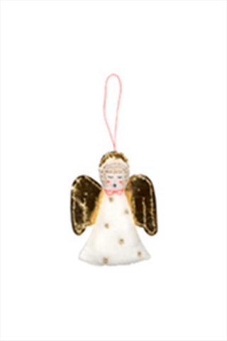 Angel Felt Tree Decorations