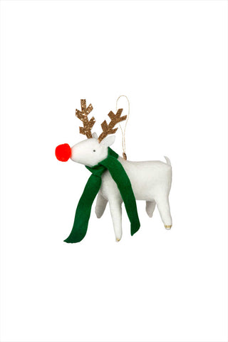 Reindeer Felt Tree Ornement