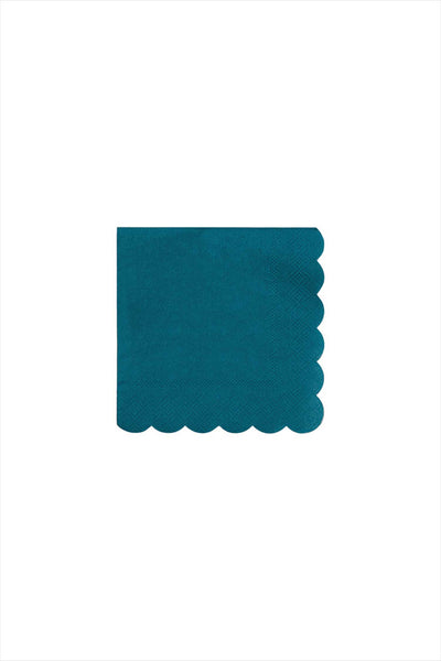 Dark Green Small Napkins