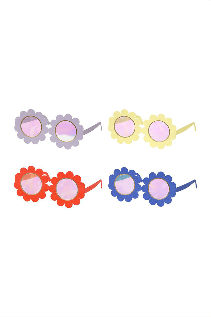 Flower Party Glasses