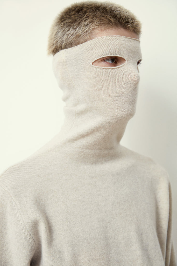 Extreme Cashmere n°57 Be All Turtleneck Dust