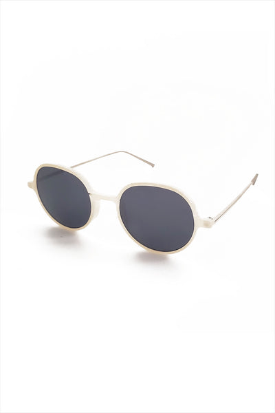 Ciqi Sam White Sunglasses