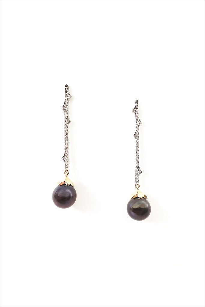 Sheida Farrokhi Thorn Earrings