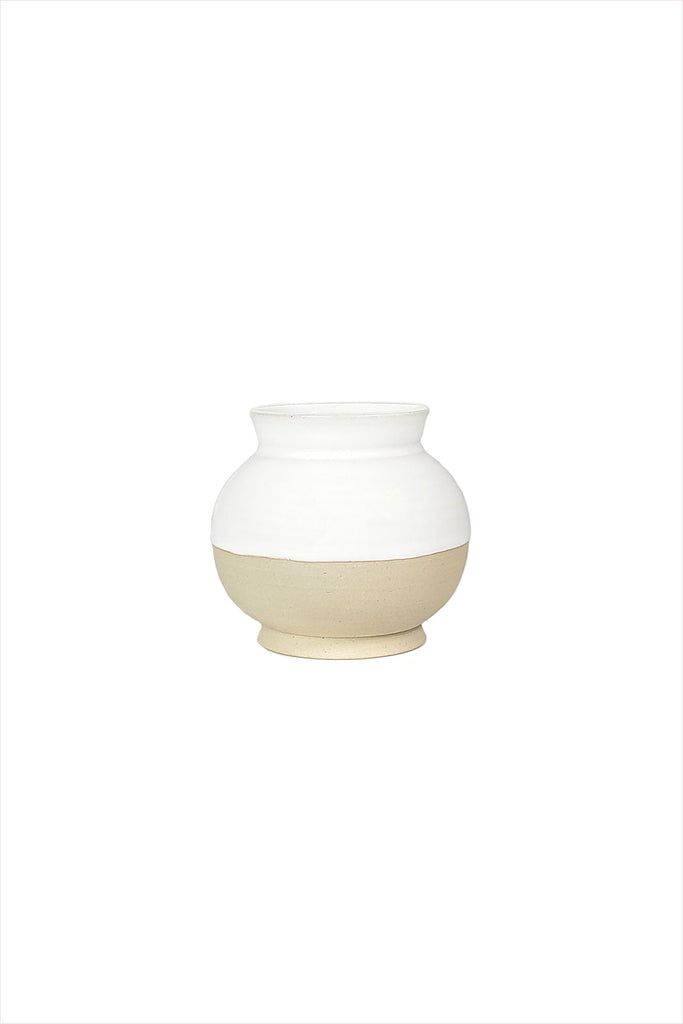 Les Guimards Lampion Rond Mini Vase White