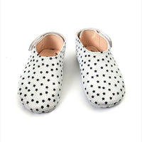 Stellina Baby Bootie White Shimmer With Stars