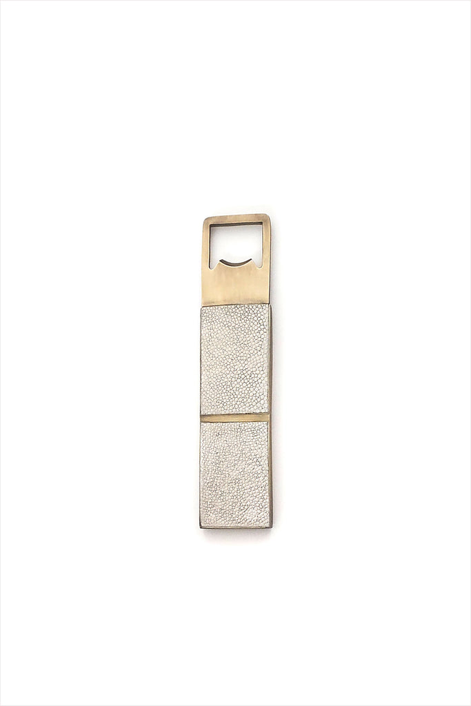 Propeller Bottle Opener Natural Shagreen