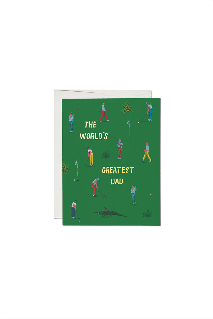 Golf Dad Fathers Day Card