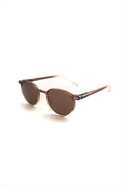 Ciqi Chet Half Brown Sunglasses