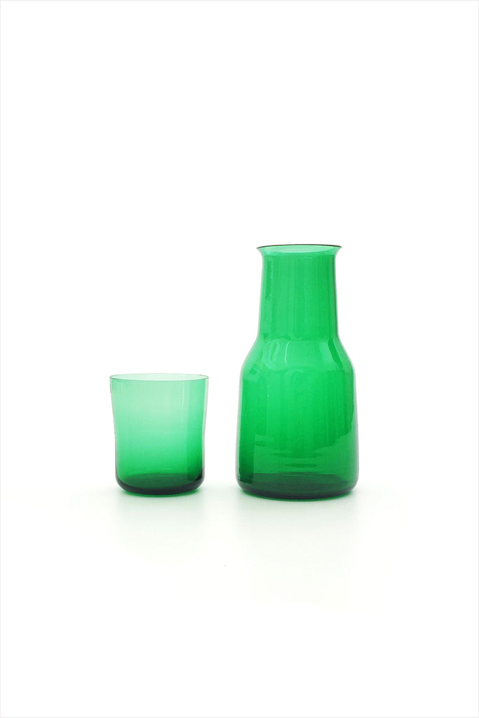 Murano Carafe And Glass Set