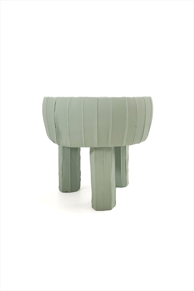 Paola Tripod Planter Tall Pale Green