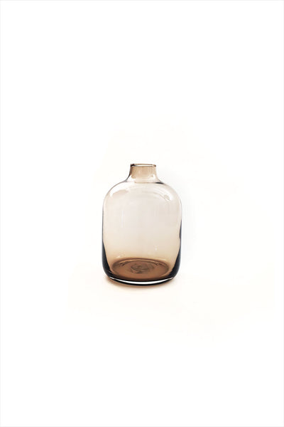 Glass Bulb Vase Mini Mocha