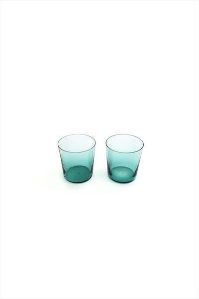 MUN Glassware Small Glass Green