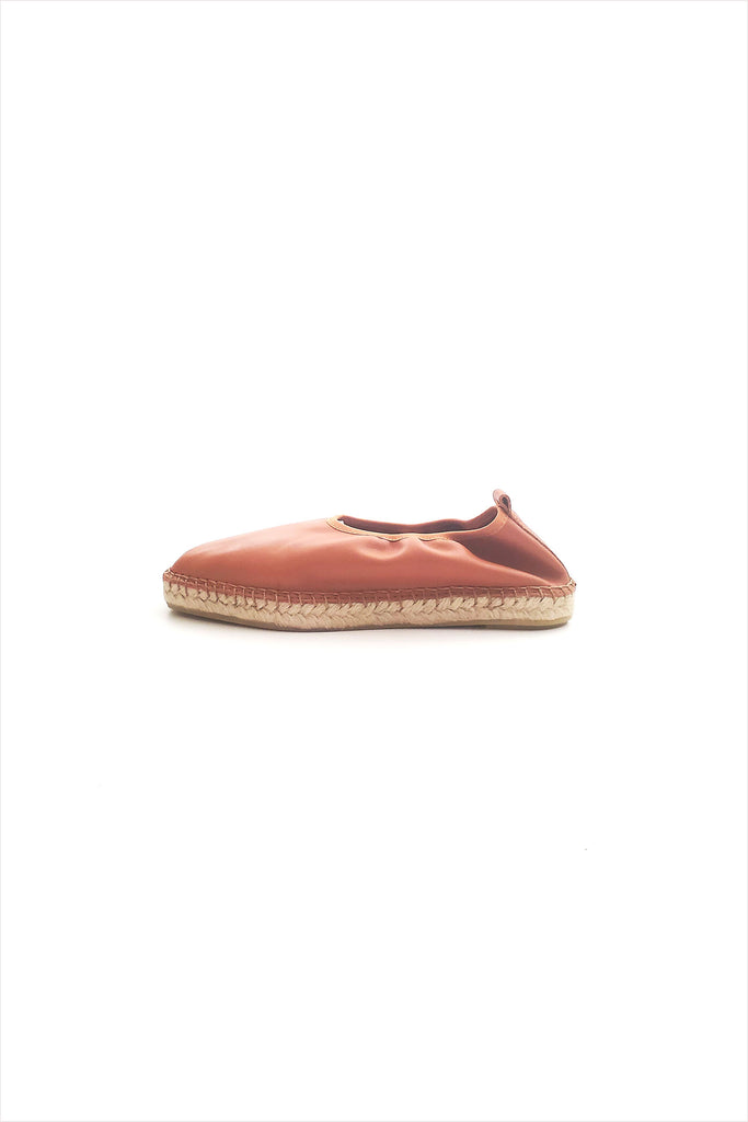 Act. Edvard leather Espadrille Brown