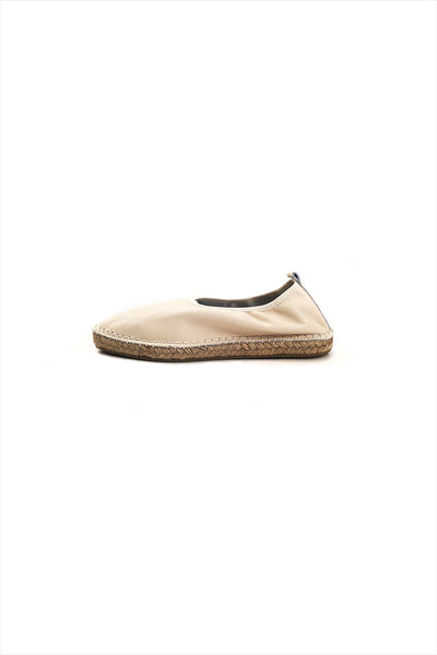 Act. Edvard leather Espadrille White
