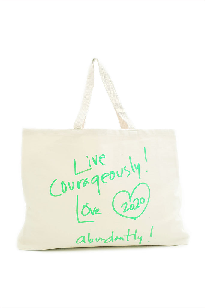 FH Live Courageously Love Abundantly 2020 Tote Bag