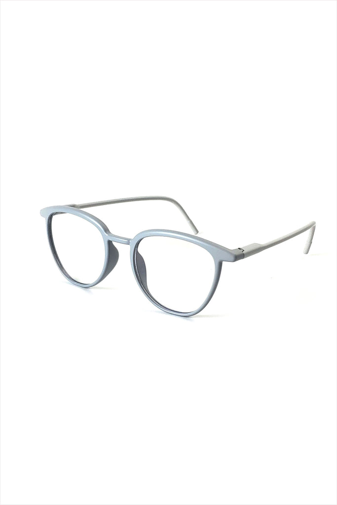Ciqi Curtis Matte Gray Blue Block Screen Glasses