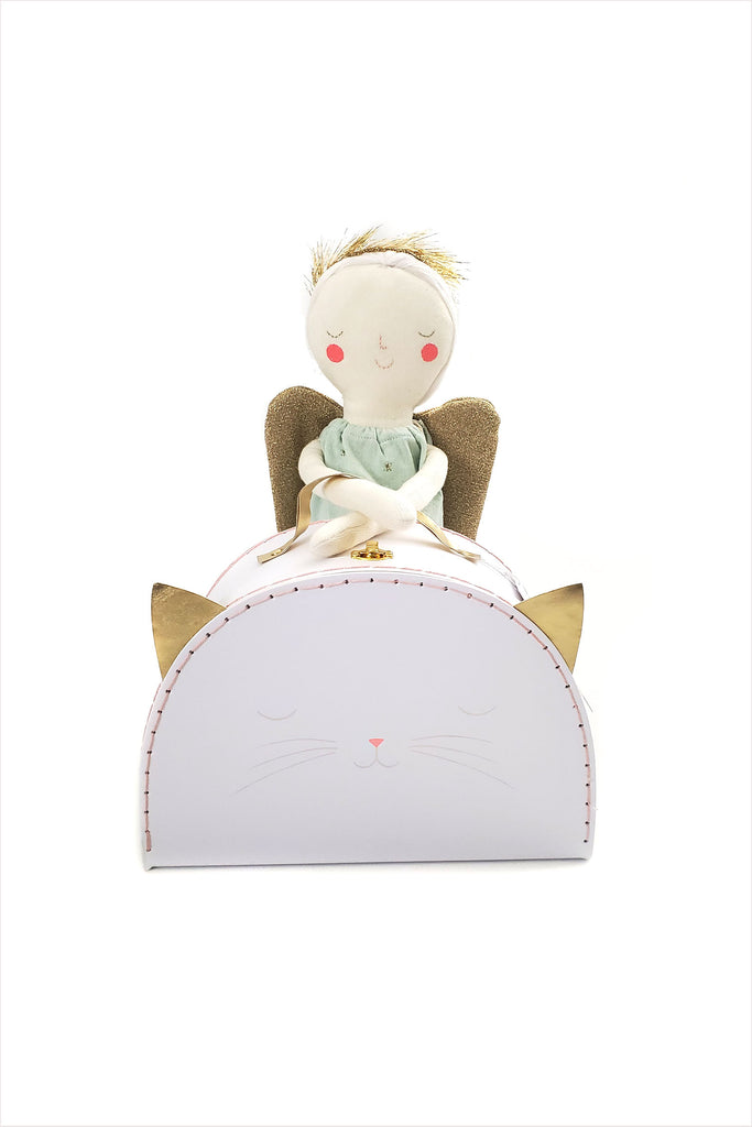 Angel Doll & Cat Case Wardrobe Pack