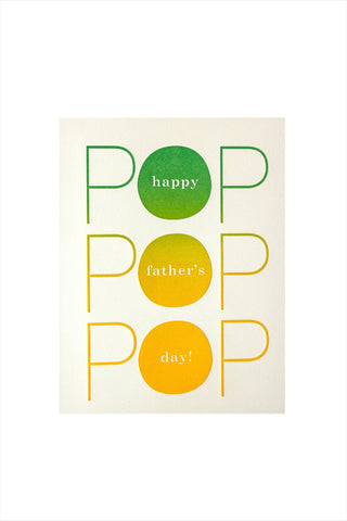 Father's day Pop Card