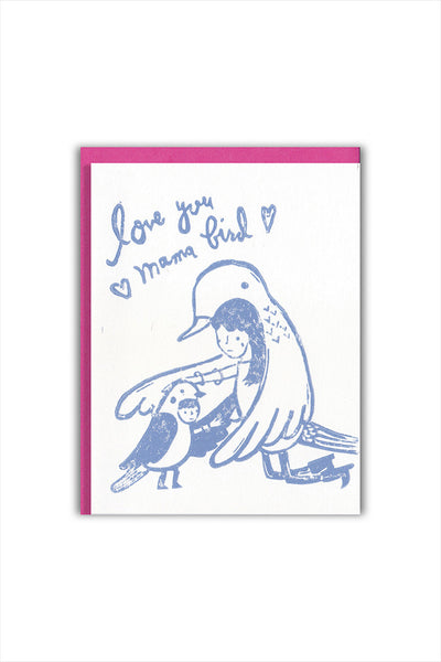 Mama Bird Mother's Day Card