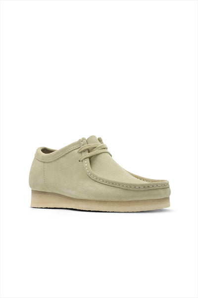 Clarks Men's Suede Wallabee Shoe Maple