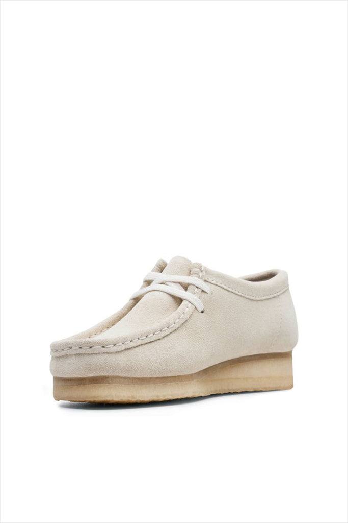 Clarks Women's Suede Wallabee Shoe