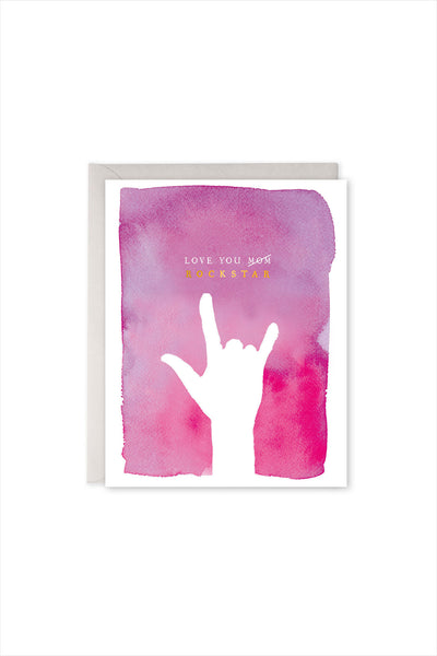 Rock Star Mother's Day Card