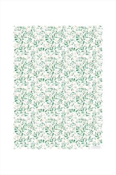 White Berries Wrapping Paper