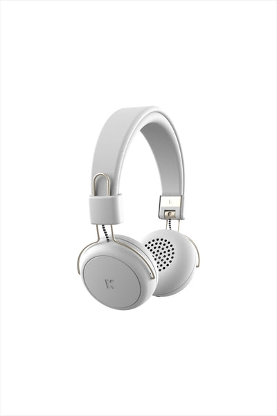 aWear Headphones White Champagne