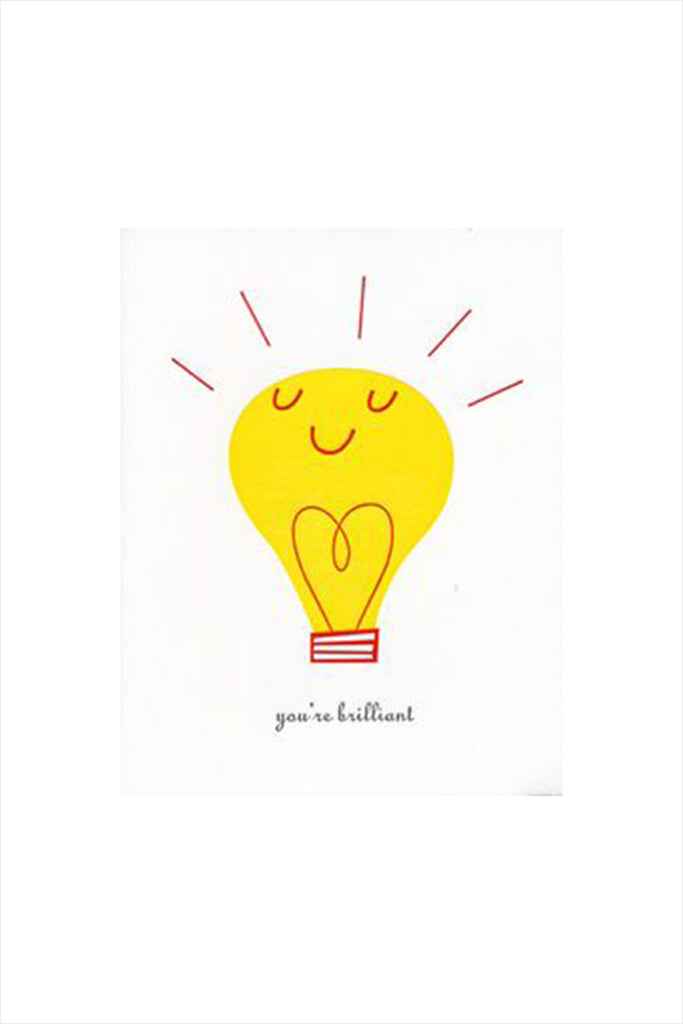You're Brilliant Card