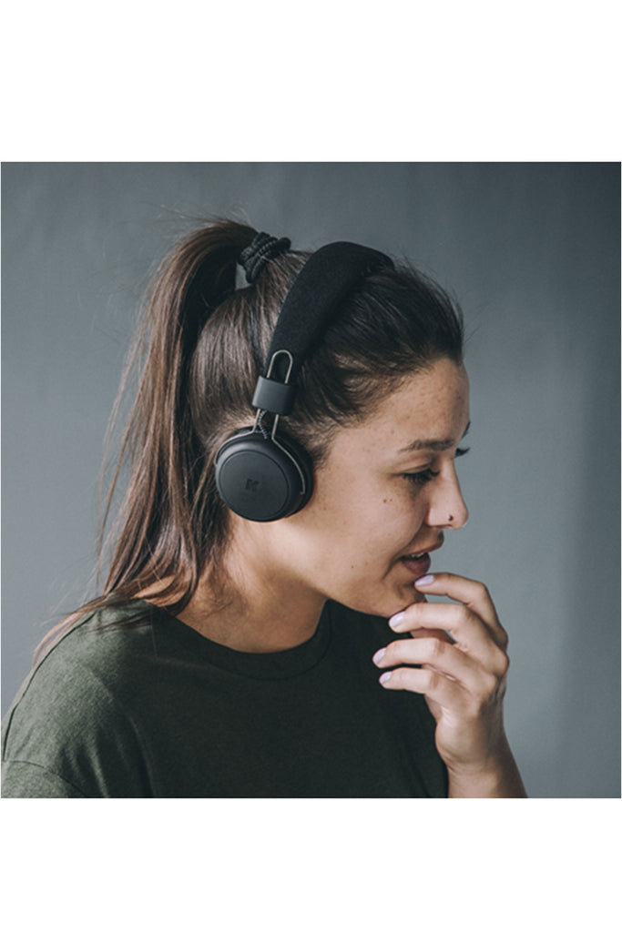 aWear Headphones Cool Grey Champagne