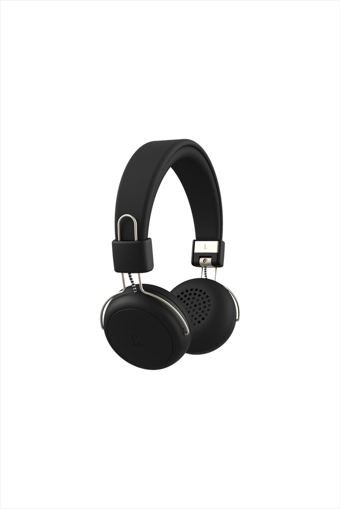 aWear Headphones Black Champagne