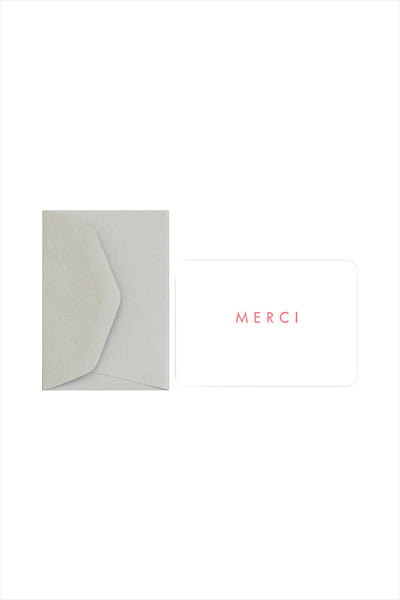 Merci Mini Card