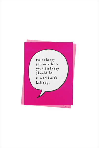 World Wide Birthday Card