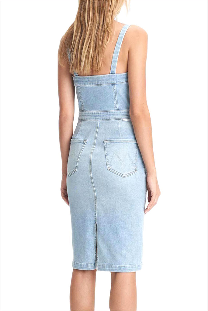 MOTHER High Pocket Hustler Overall Dress Rome