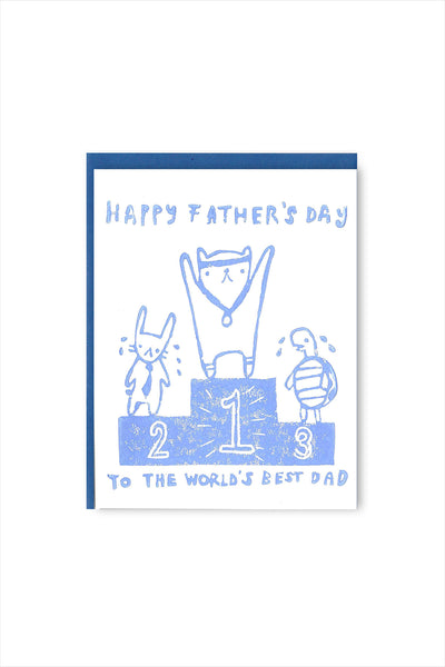 Gold Medal Dad Father's Day Card