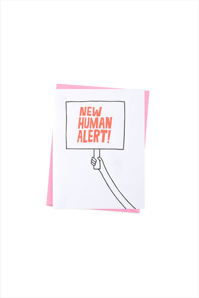 New Human Allert! Card