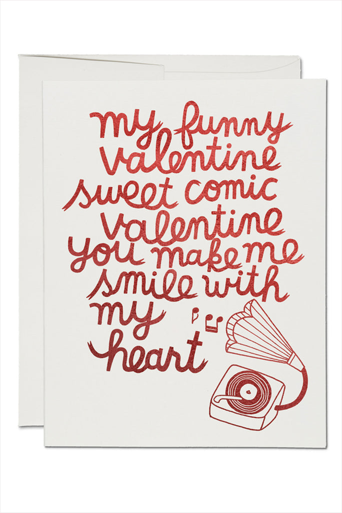 My Funny Valentine Card