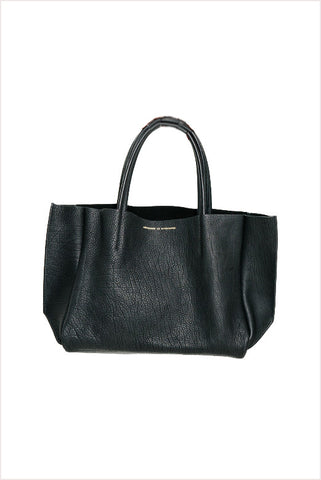 Sideways Tote Black Buffalo