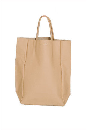 Camel Tall Tote